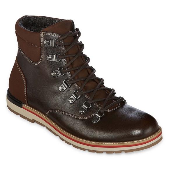 3ae75ab8eea0 New Mens JF J.Ferrar Dawson Lace Up Boot Size 9.5